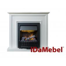 Каминокомплект IDaMebel Adele Белый Danville Black